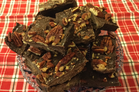 PALEO PECAN DARK CHOCOLATE BROWNIES